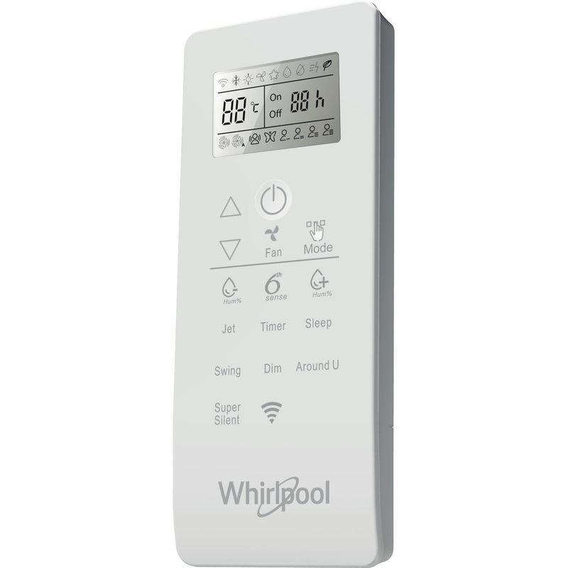 Whirlpool-Climatiseur-SPIW309A2WF-A---Moteur-inverter-Blanc-Control-panel