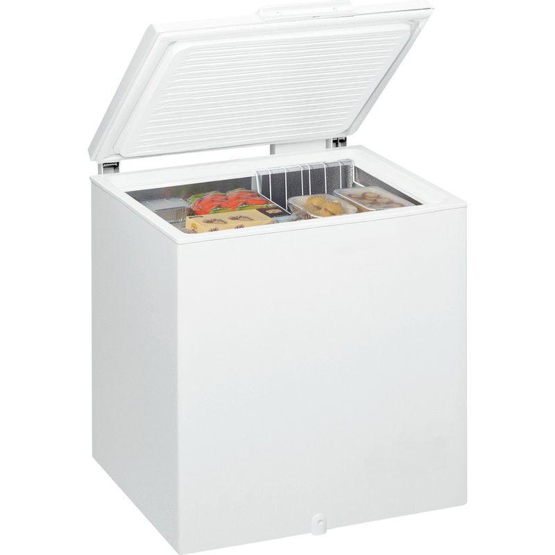 Whirlpool-Congelateur-Pose-libre-WHM2110-Blanc-Perspective-open