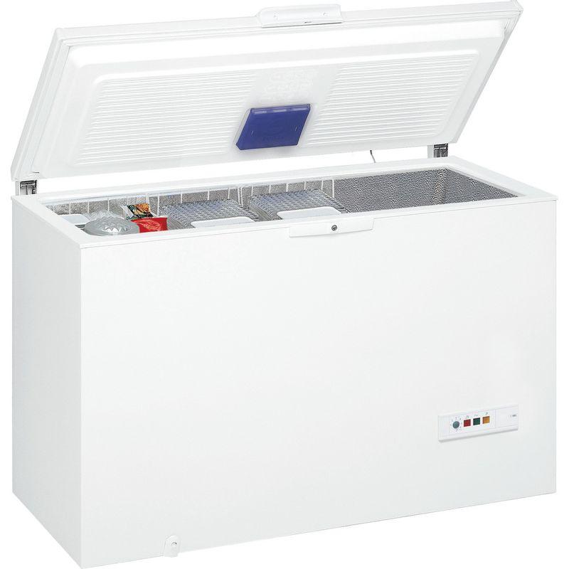 Whirlpool-Congelateur-Pose-libre-WHM3911-Blanc-Perspective-open