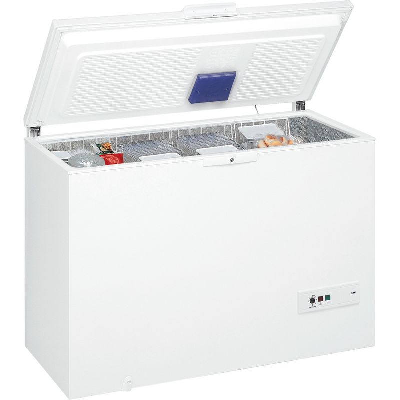 Whirlpool-Congelateur-Pose-libre-WHM4611-Blanc-Perspective-open