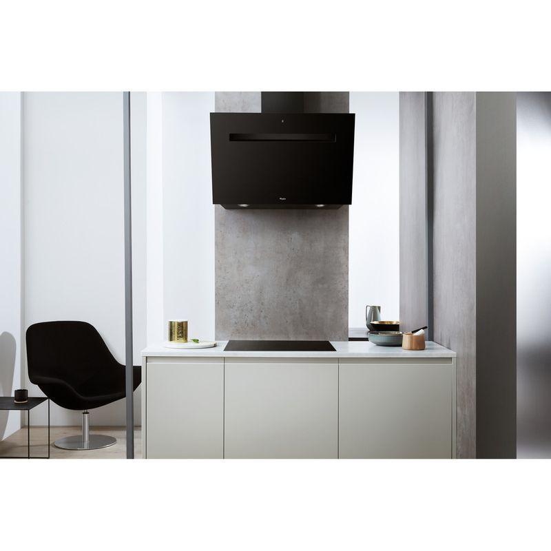 Whirlpool-Hotte-Encastrable-AKR-808-BK-Noir-Mural-Electronique-Lifestyle-frontal