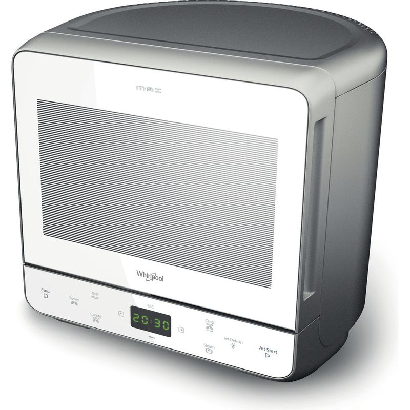 Whirlpool-Four-micro-ondes-Pose-libre-MAX-39-WSL-Argent-Electronique-13-Micro-ondes---gril-700-Perspective