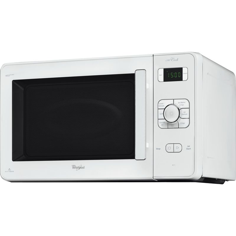 Whirlpool-Four-micro-ondes-Pose-libre-JC-218-WH-Blanc-Electronique-30-Micro-ondes-Combine-1000-Perspective