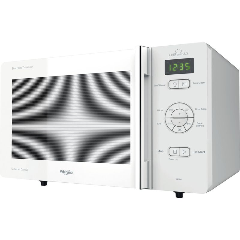 Whirlpool-Four-micro-ondes-Pose-libre-MCP-345-WH-Blanc-Electronique-25-Micro-ondes---gril-800-Perspective