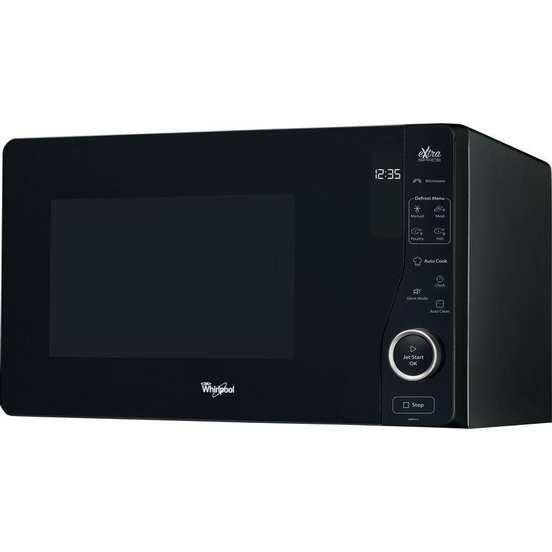 Whirlpool-Four-micro-ondes-Pose-libre-MWF-420-BL-Noir-Electronique-25-Micro-ondes-uniquement-800-Perspective
