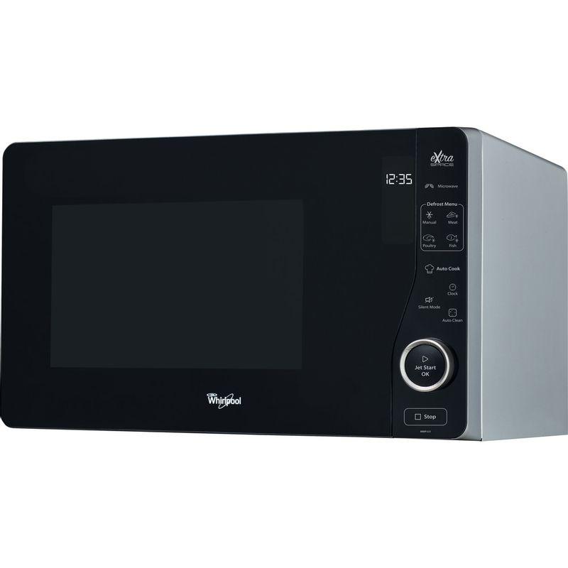 Whirlpool-Four-micro-ondes-Pose-libre-MWF-420-SL-Argent-Electronique-25-Micro-ondes-uniquement-800-Perspective