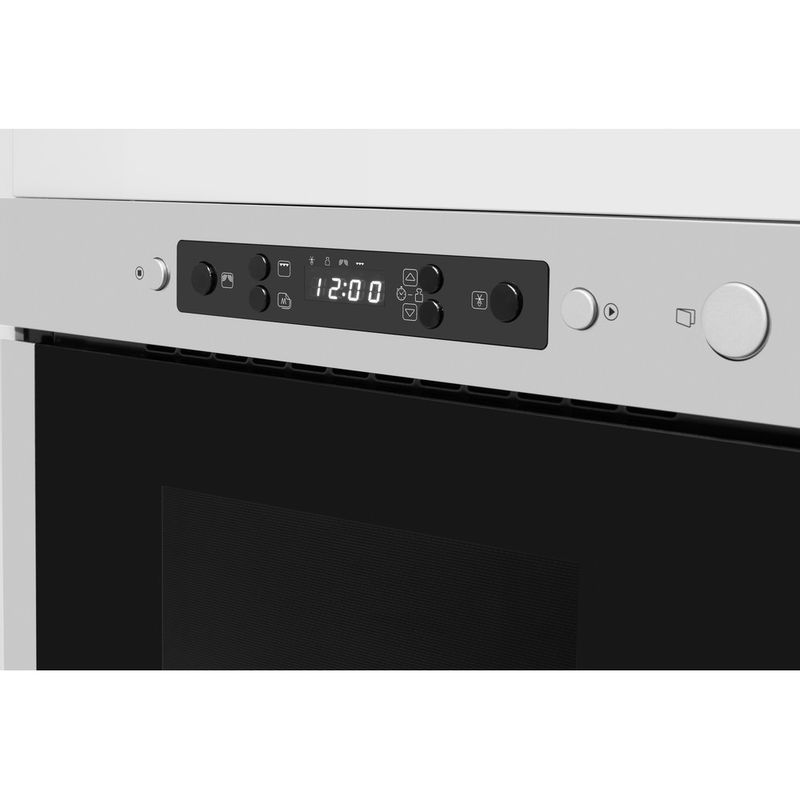 Whirlpool-Four-micro-ondes-Encastrable-AMW-424-IX-Acier-inoxydable-Electronique-22-Micro-ondes-uniquement-750-Control-panel