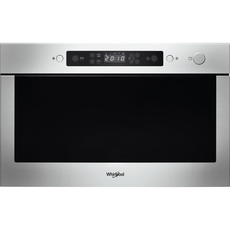 Whirlpool-Four-micro-ondes-Encastrable-AMW-439-IX-Acier-inoxydable-Electronique-22-Micro-ondes---gril-750-Frontal