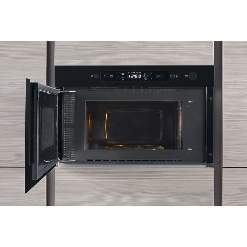 Whirlpool-Four-micro-ondes-Encastrable-AMW-439-NB-Noir-Electronique-22-Micro-ondes---gril-750-Lifestyle-frontal-open