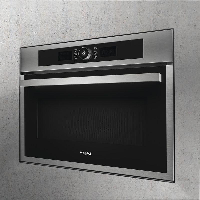 Whirlpool-Four-micro-ondes-Encastrable-AMW-9607-IX-Acier-inoxydable-Electronique-40-Micro-ondes-Combine-900-Lifestyle-perspective