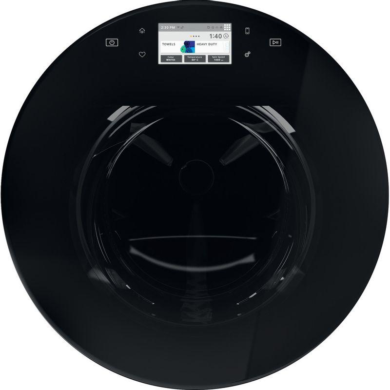 Whirlpool-Lave-linge-Pose-libre-FRR12451-Blanc-Lave-linge-frontal-A----Drum