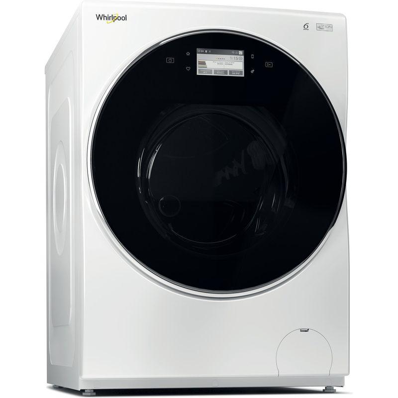 Whirlpool-Lave-linge-Pose-libre-FRR12451-Blanc-Lave-linge-frontal-A----Perspective