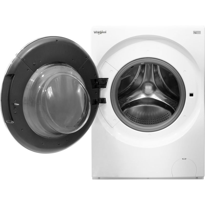 Whirlpool-Lave-linge-Pose-libre-FRR12451-Blanc-Lave-linge-frontal-A----Frontal-open