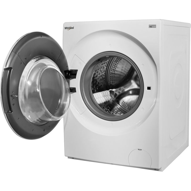 Whirlpool-Lave-linge-Pose-libre-FRR12451-Blanc-Lave-linge-frontal-A----Perspective-open
