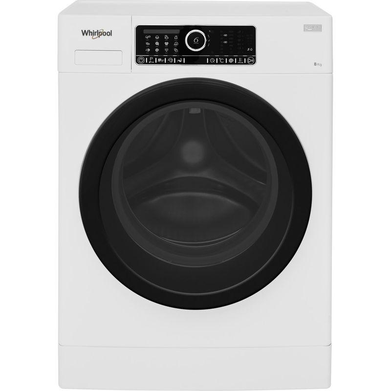 Whirlpool-Lave-linge-Pose-libre-FSCR80430-Blanc-Lave-linge-frontal-A----Frontal