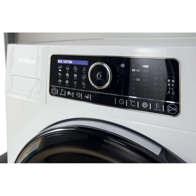 Whirlpool-Lave-linge-Pose-libre-FSCR80430-Blanc-Lave-linge-frontal-A----Lifestyle-control-panel