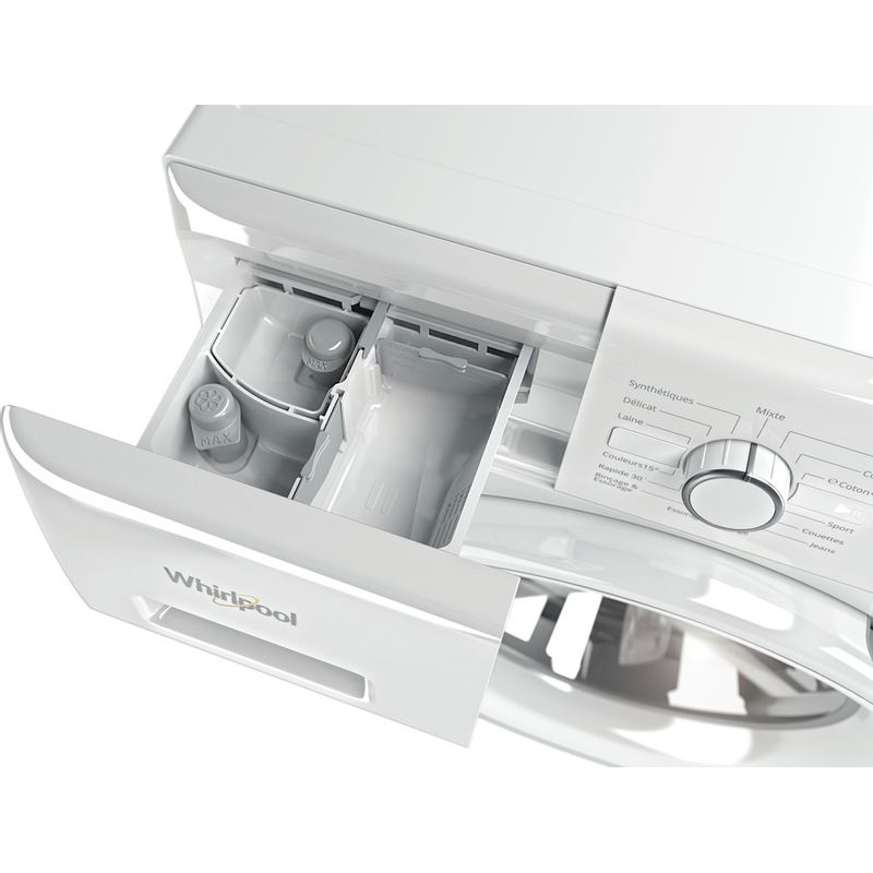 Whirlpool-Lave-linge-Pose-libre-FWF81483WS-FR-Blanc-Lave-linge-frontal-A----Drawer