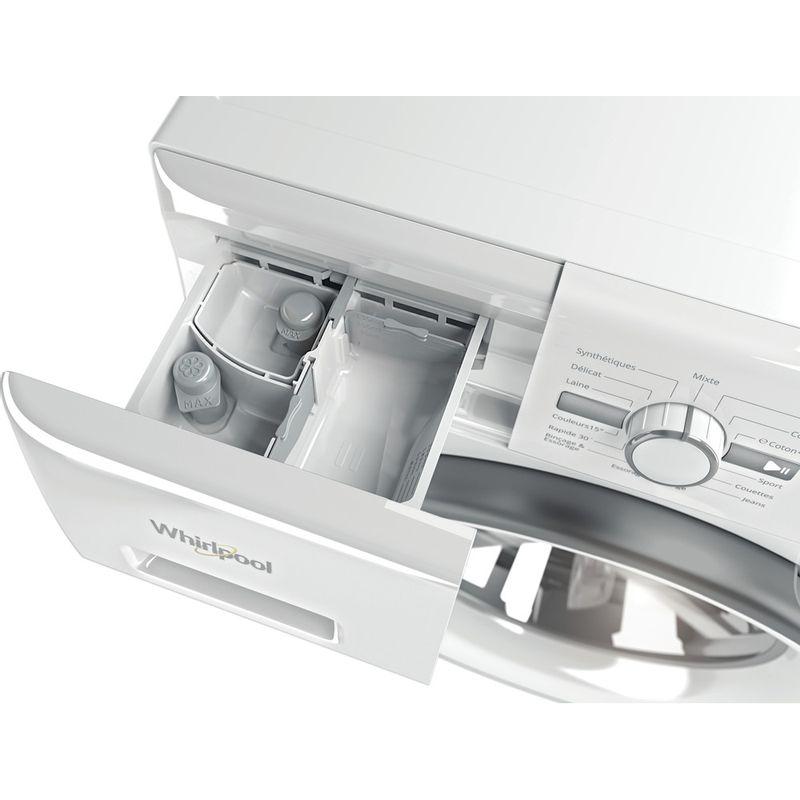 Whirlpool-Lave-linge-Pose-libre-FWG91484WS-FR-Blanc-Lave-linge-frontal-A----Drawer
