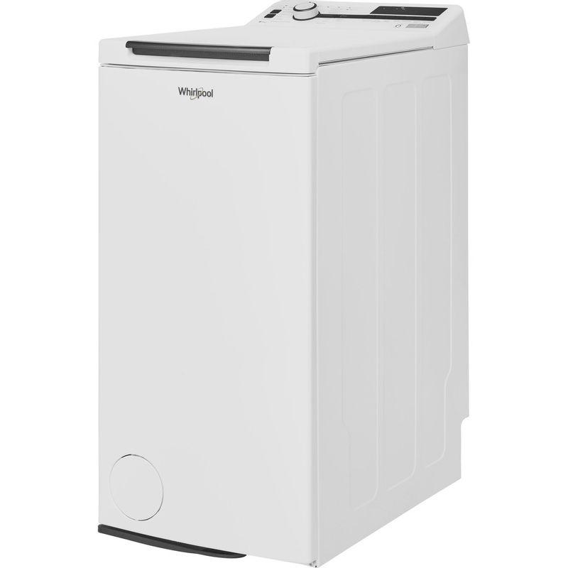 Whirlpool-Lave-linge-Pose-libre-TDLR-60230-Blanc-Lave-linge-top-A----Perspective