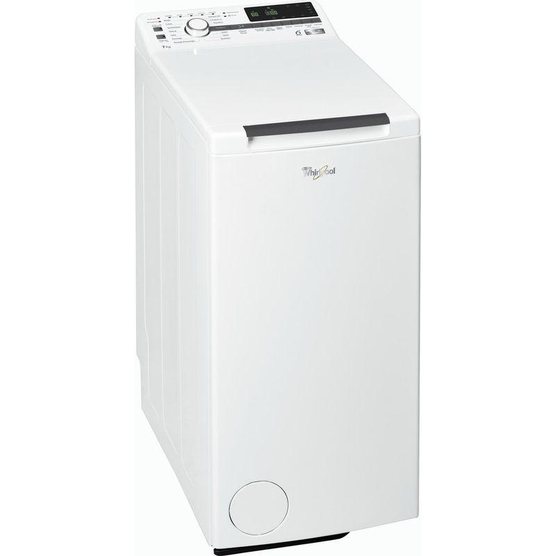 Whirlpool-Lave-linge-Pose-libre-TDLR-70230-Blanc-Lave-linge-top-A----Perspective