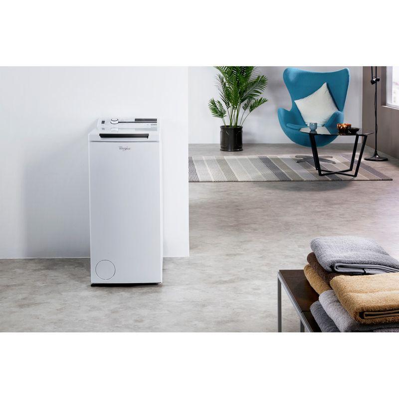 Whirlpool-Lave-linge-Pose-libre-TDLR-70230-Blanc-Lave-linge-top-A----Lifestyle-frontal