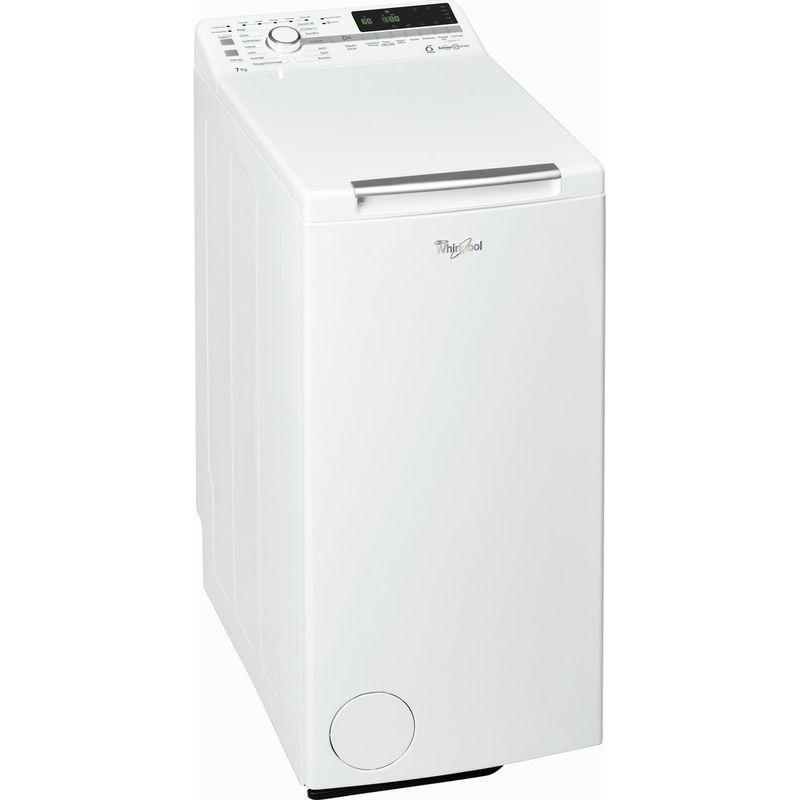 Whirlpool-Lave-linge-Pose-libre-TDLR-70220-Blanc-Lave-linge-top-A----Perspective