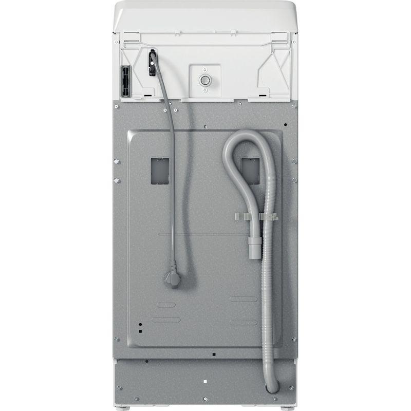 Whirlpool-Lave-linge-Pose-libre-TDLR-70220-Blanc-Lave-linge-top-A----Back---Lateral