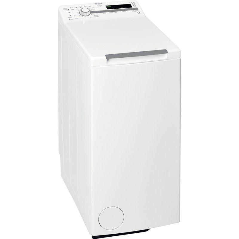 Whirlpool-Lave-linge-Pose-libre-TDLR-70210-Blanc-Lave-linge-top-A----Perspective