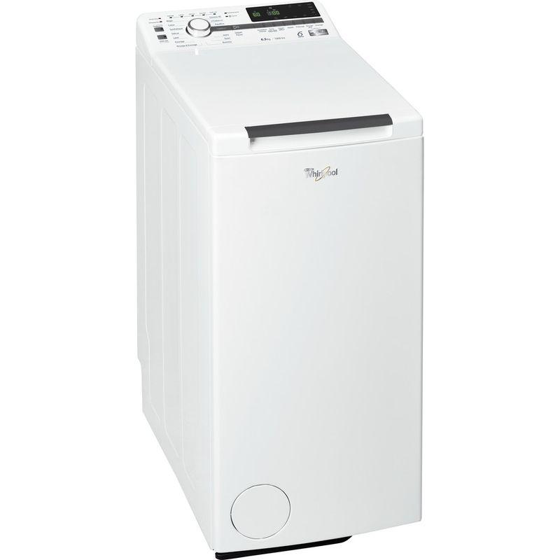 Whirlpool-Lave-linge-Pose-libre-TDLR-65330-Blanc-Lave-linge-top-A----Perspective