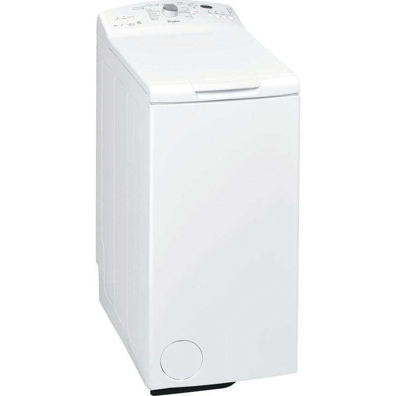 Whirlpool-Lave-linge-Pose-libre-AWE-6628-Blanc-Lave-linge-top-A----Perspective