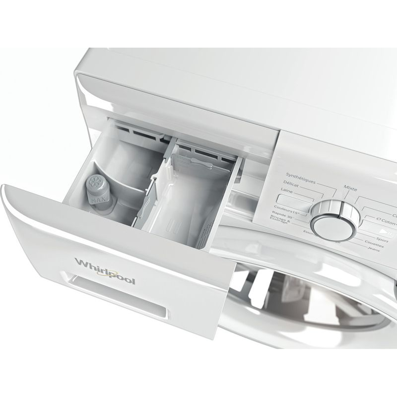 Whirlpool-Lave-linge-Pose-libre-FWFB81483W-FR-Blanc-Lave-linge-frontal-A----Drawer