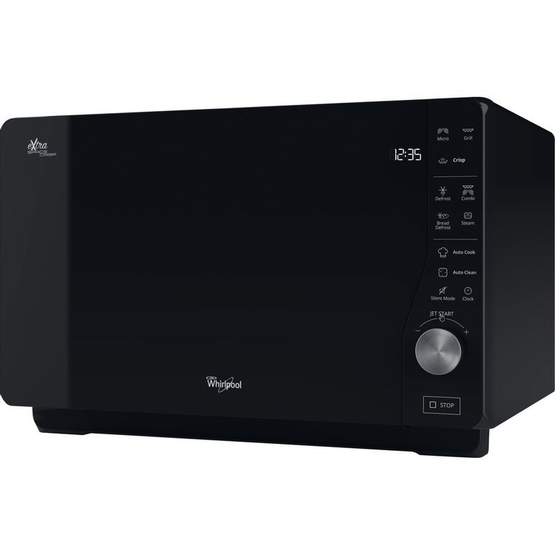 Whirlpool-Four-micro-ondes-Pose-libre-MWF-427-BL-Noir-Electronique-25-Micro-ondes---gril-800-Perspective