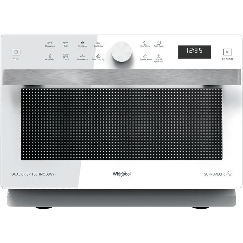Whirlpool-Four-micro-ondes-Pose-libre-MWP-338-W-Blanc-Electronique-33-Micro-ondes-Combine-900-Frontal