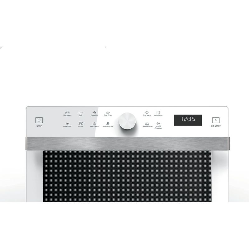 Whirlpool-Four-micro-ondes-Pose-libre-MWP-338-W-Blanc-Electronique-33-Micro-ondes-Combine-900-Control-panel