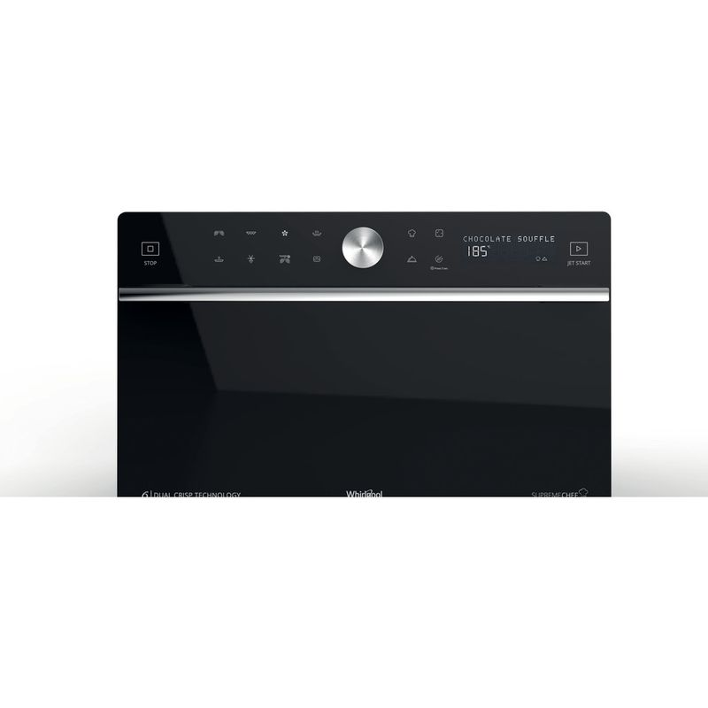Whirlpool-Four-micro-ondes-Pose-libre-MWP-3391-SB-Argent-Electronique-33-Micro-ondes-Combine-1000-Control-panel