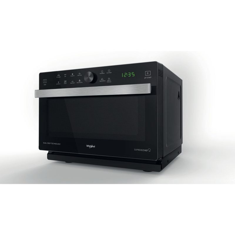 Whirlpool-Four-micro-ondes-Pose-libre-MWP-338-B-Noir-Electronique-33-Micro-ondes-Combine-900-Perspective