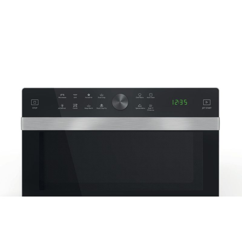 Whirlpool-Four-micro-ondes-Pose-libre-MWP-338-B-Noir-Electronique-33-Micro-ondes-Combine-900-Control-panel