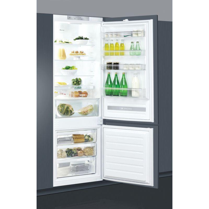 Whirlpool-Combine-refrigerateur-congelateur-Encastrable-SP40-800-Blanc-2-portes-Perspective-open