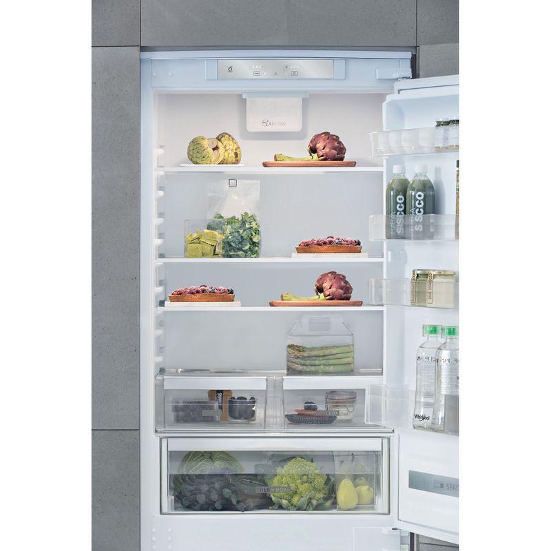 Whirlpool-Combine-refrigerateur-congelateur-Encastrable-SP40-800-Blanc-2-portes-Lifestyle-frontal-open