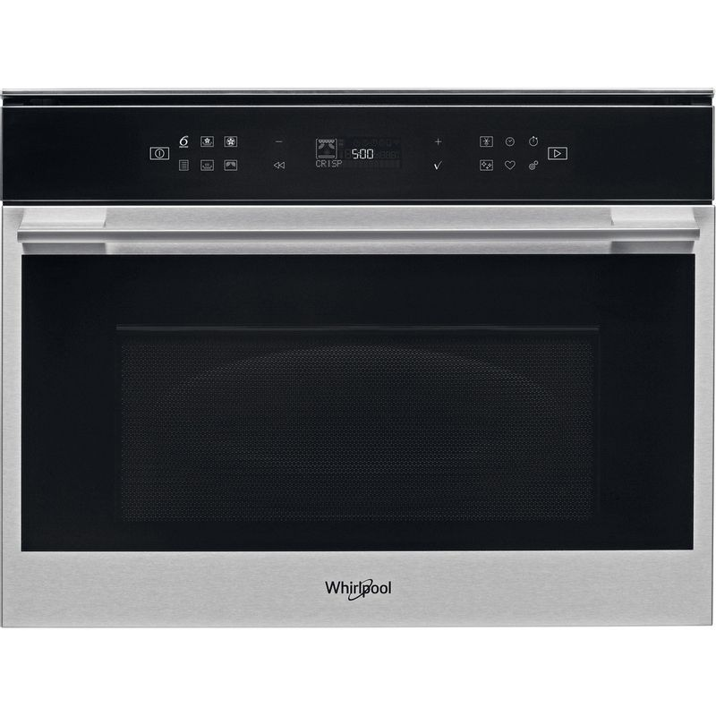 Whirlpool-Four-micro-ondes-Encastrable-W7-MW461-Acier-inoxydable-Electronique-40-Micro-ondes-Combine-900-Frontal