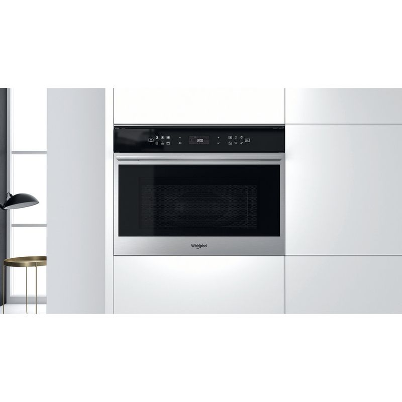 Whirlpool-Four-micro-ondes-Encastrable-W7-MW461-Acier-inoxydable-Electronique-40-Micro-ondes-Combine-900-Lifestyle-frontal