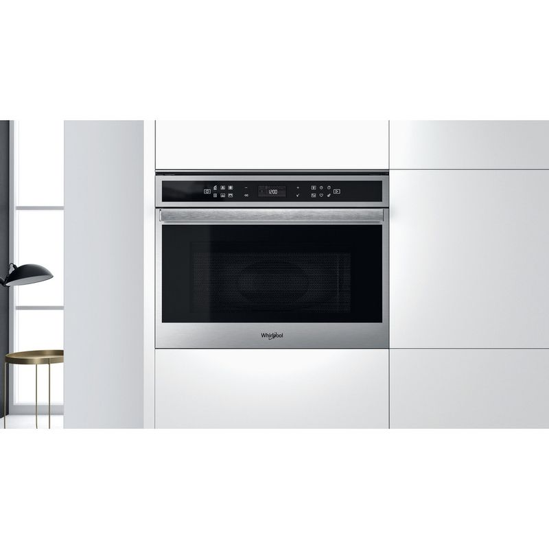 Whirlpool-Four-micro-ondes-Encastrable-W6-MW461-Acier-inoxydable-Electronique-40-Micro-ondes-Combine-900-Lifestyle-frontal