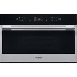 Micro-ondes encastrable Whirlpool: couleur acier inoxydable - W7 MD440