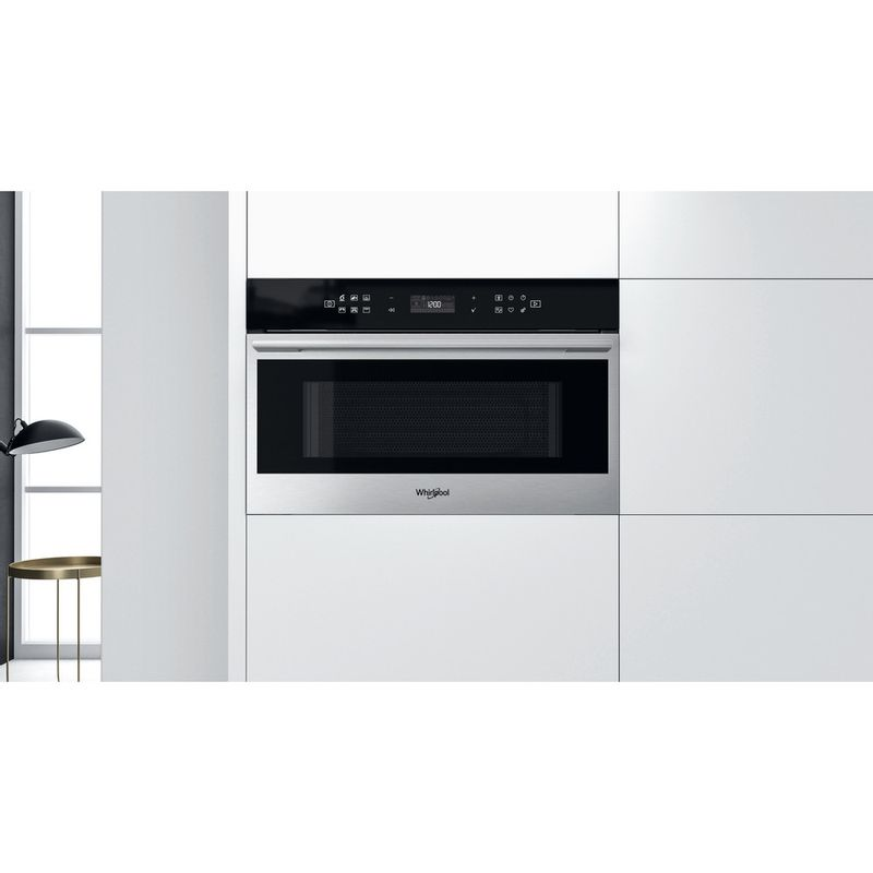 Whirlpool-Four-micro-ondes-Encastrable-W7-MD440-Acier-inoxydable-Electronique-31-Micro-ondes---gril-1000-Lifestyle-frontal