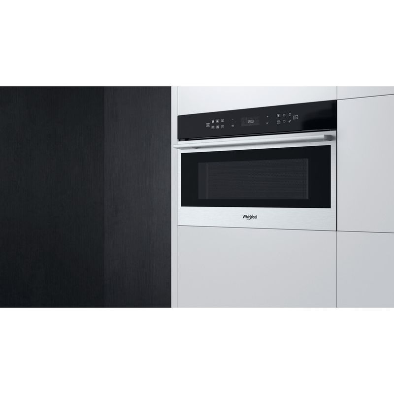 Whirlpool-Four-micro-ondes-Encastrable-W7-MD440-Acier-inoxydable-Electronique-31-Micro-ondes---gril-1000-Lifestyle-perspective