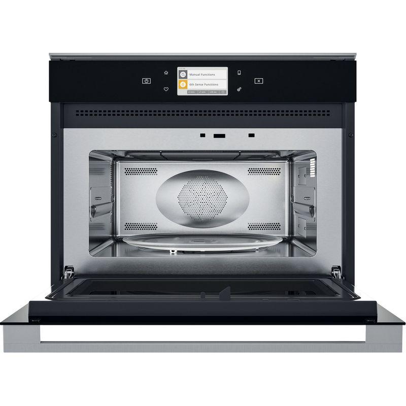 Whirlpool-Four-micro-ondes-Encastrable-W11-MW161-Noir-gris-Electronique-40-Micro-ondes-Combine-900-Frontal-open