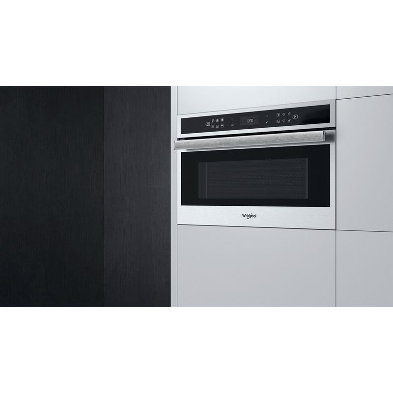 Whirlpool-Four-micro-ondes-Encastrable-W6-MD460-Acier-inoxydable-Electronique-31-Micro-ondes-Combine-1000-Lifestyle-perspective