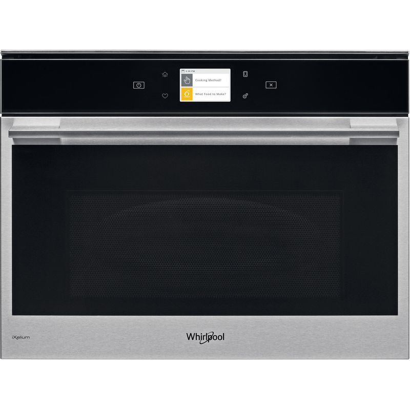 Whirlpool-Four-micro-ondes-Encastrable-W9-MW261-IXL-Acier-inoxydable-Electronique-40-Micro-ondes-Combine-900-Frontal