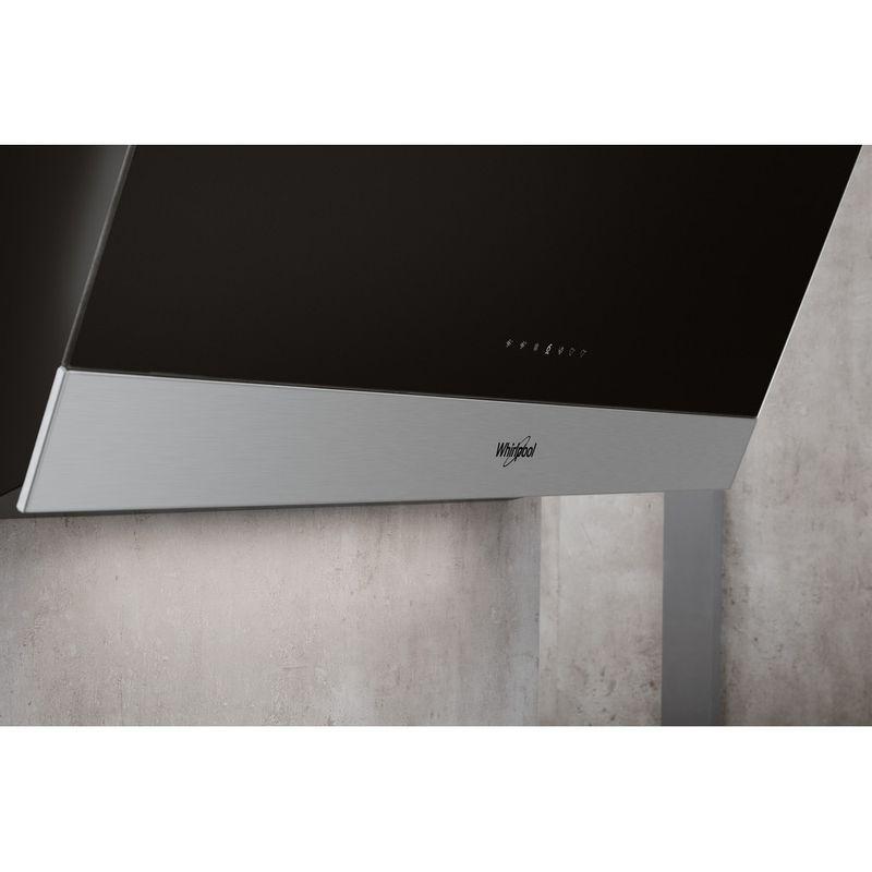 Whirlpool-Hotte-Encastrable-WVS-93F-LT-K-Noir-Mural-Electronique-Lifestyle-control-panel