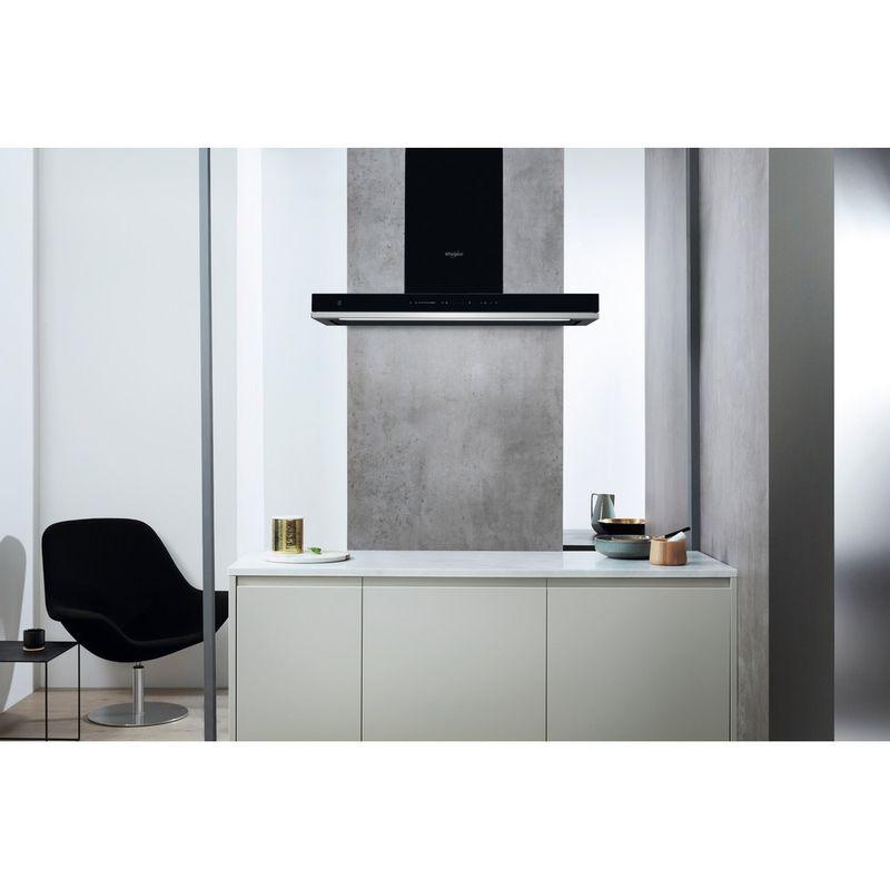 Whirlpool-Hotte-Encastrable-WHSS-90F-L-T-C-K-Noir-Mural-Electronique-Lifestyle-frontal